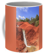 Kauai Red Dirt Waterfall Coffee Mug