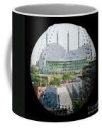 Kauffman Center For The Performing Arts Square Baseball Coffee Mug