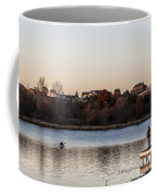 Kayak At Sunset Coffee Mug