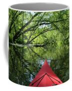 Kayaking Backwater Mississippi 1 Coffee Mug
