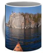Kayaking Beneath The Light Coffee Mug
