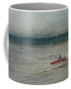 Kayaking In Port Dover Coffee Mug