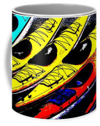 Kayaks Ashore Coffee Mug