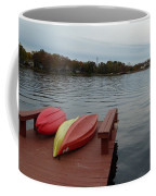 Kayaks By The Lake Nj Coffee Mug