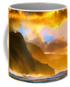 Ke'e Beach Sunset Coffee Mug