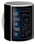Keep Calm And Travel On Nova Scotia Crosswords Coffee Mug