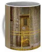 Keep Door Closed Coffee Mug