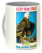 Keep Him Free Coffee Mug