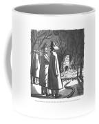 Keep It Under Your Hat Coffee Mug