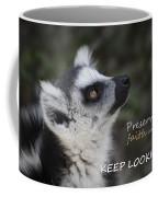 Keep Looking Up Coffee Mug