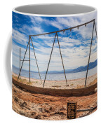 Keep Out No Playing Here Swing Set Playground Coffee Mug