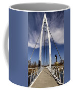 Keeper Of The Plains Bridge View Coffee Mug