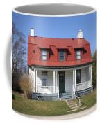Keeper's House - Presque Isle Light Michigan Coffee Mug
