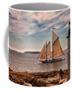 Keeping Vessels Safe Coffee Mug by Karol Livote