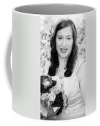 Keira In Black And White Coffee Mug