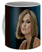 Keira Knightley Coffee Mug by Paul Meijering