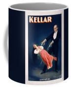Kellar Levitation Vintage Magic Poster Coffee Mug