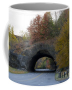 Kelly Drive Rock Tunnel In Autumn Coffee Mug