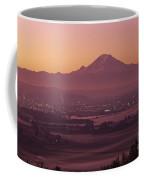 Kent Valley With Mount Rainier Coffee Mug