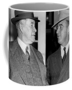 Kentucky Senators Visit Fdr Coffee Mug by Underwood Archives