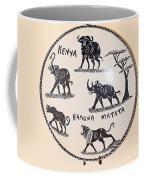 Kenya Animals Coffee Mug