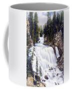 Kepler Cascades Yellowstone National Park Coffee Mug