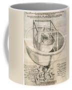 Keplers Universe, 1596 Coffee Mug