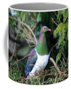 Kerehu - New Zealand Wood Pigeon Coffee Mug