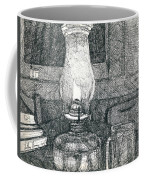 Kerosene Lamp Coffee Mug