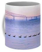 Key Bridge And Waterfowl Coffee Mug