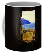 Key Hole View Of Dubrovnik 2 Coffee Mug
