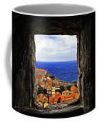Key Hole View Of Dubrovnik Coffee Mug