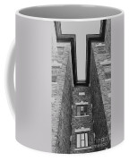 Key-stoning In Black And White Coffee Mug