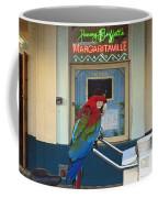 Key West - Parrot Taking A Break At Margaritaville Coffee Mug