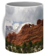 Keyhole To Pikes Peak Coffee Mug