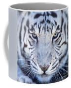Khan The White Bengal Tiger Coffee Mug