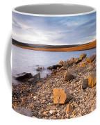 Kielder Dam In Low Sun Coffee Mug