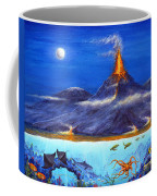 Kilauea Volcano Hawaii Coffee Mug