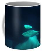 Killer Whales Orcas Under Water  Off The San Juan Islands 1986 Coffee Mug