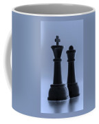 King And Queen In Cyan Coffee Mug