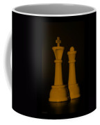 King And Queen In Orange Coffee Mug by Rob Hans