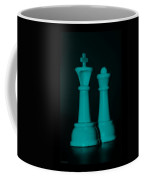 King And Queen In Turquois Coffee Mug by Rob Hans