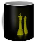 King And Queen In Yellow Coffee Mug by Rob Hans