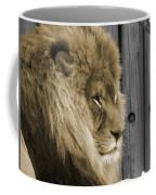 King In Sepia Coffee Mug