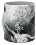 King James Lebron Coffee Mug by Ylli Haruni