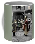 King Macbeth Of Scotland With The Bishop Coffee Mug