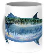 King Mackerel Coffee Mug by Carey Chen