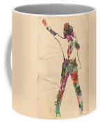 King Of Pop In Concert No 2 Coffee Mug