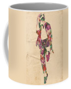King Of Pop In Concert No 3 Coffee Mug