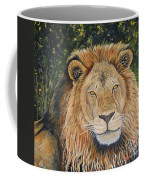 King Of The African Savannah Coffee Mug